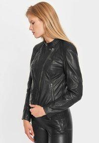Notyz - EMMA - Leren jas - black - 3