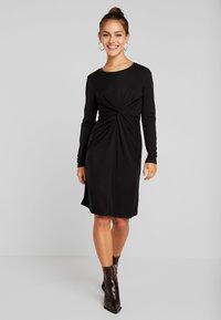 Object Petite - OBJALBERTE DRESS  - Robe fourreau - black - 2
