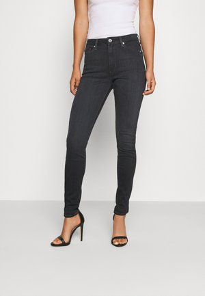 SYLVIA SUPER ANKLE  - Jeansy Skinny Fit - bird black
