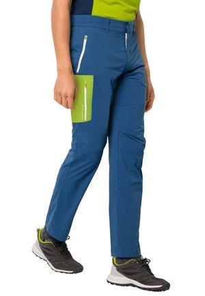OVERLAND  - Outdoor trousers - indigo blue