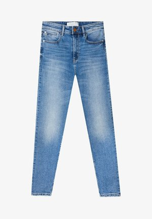 Jeans Skinny - mottled light blue