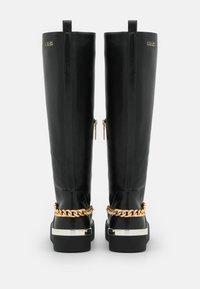 Liu Jo Jeans - SILVIA  - Platform boots - black - 3