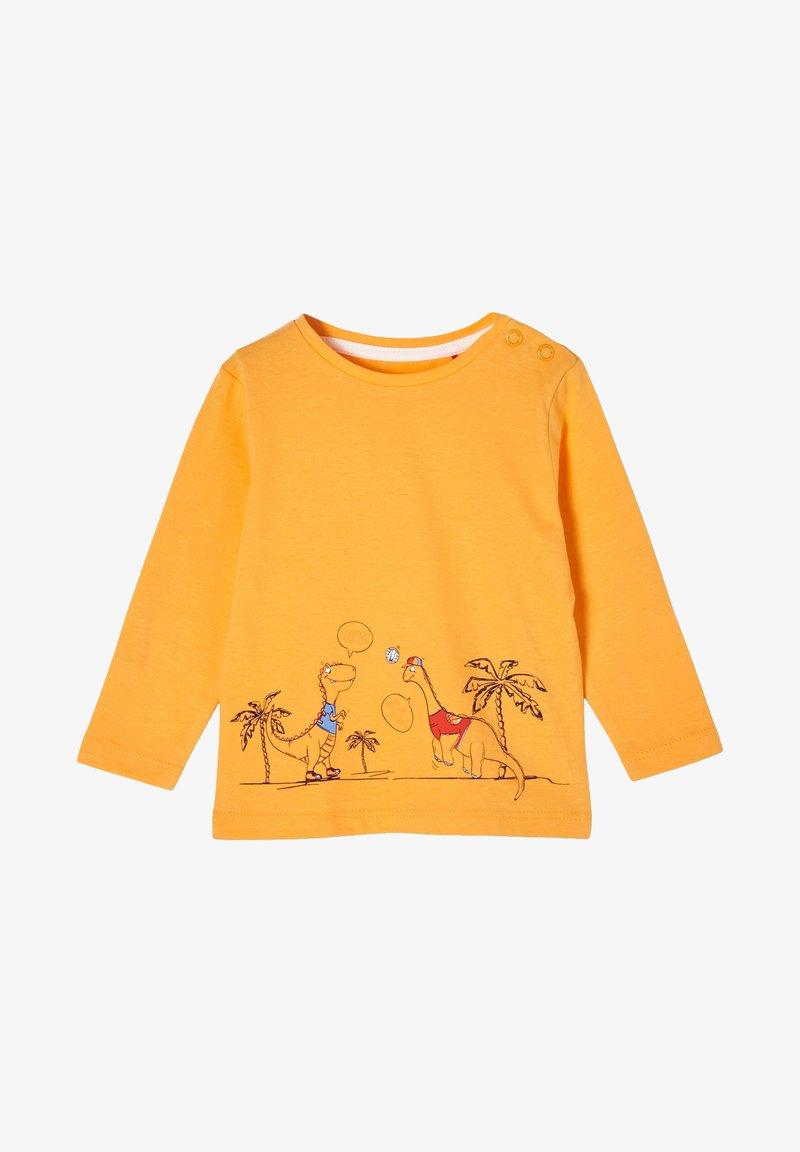 s.Oliver - Long sleeved top - light orange