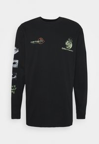 Carhartt WIP - RACE PLAY - Long sleeved top - black - 4