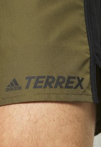 adidas Performance - TRAIL - Outdoor shorts - focus olive - 4