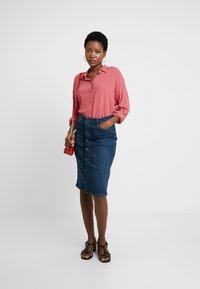 edc by Esprit - NEW SLUB - Skjorte - blush - 1