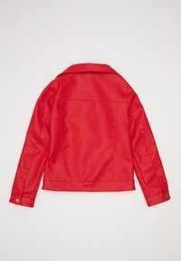 DeFacto - Faux leather jacket - red - 1