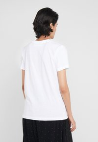 DESIGNERS REMIX - STANLEY TEXT TEE - T-shirt print - white - 2