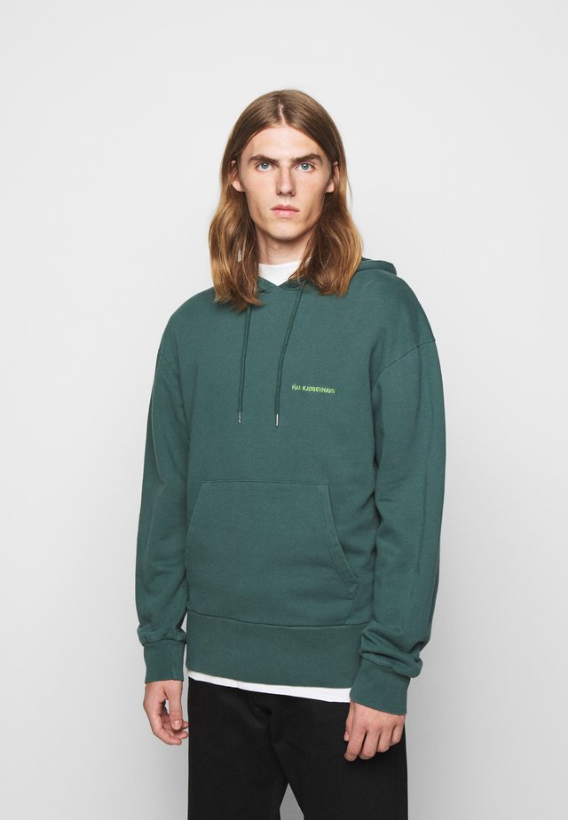 BULKY HOODIE - Sweat à capuche - faded green