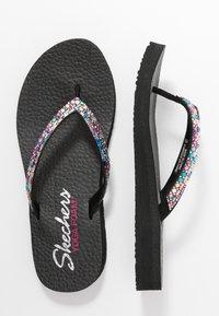 Skechers - MEDITATION - T-bar sandals - black/multicolor - 3
