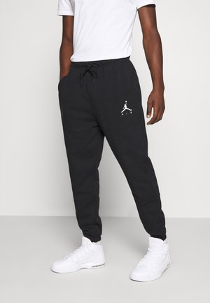 JUMPMAN AIR PANT - Spodnie treningowe - black/white
