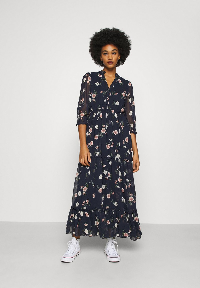 Vero Moda - VMTALLIE FLOUNCE  - Maxi dress - navy blazer