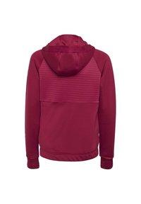 adidas Performance - Zip-up hoodie - powber/msilve - 1