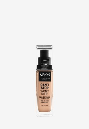 CAN'T STOP WON'T STOP FOUNDATION - Foundation - 6 vanilla