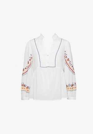 YASVANITA FEST - Blouse - star white