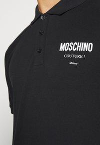 MOSCHINO - UPPER BODY GARMENT - Polo shirt -  black - 5