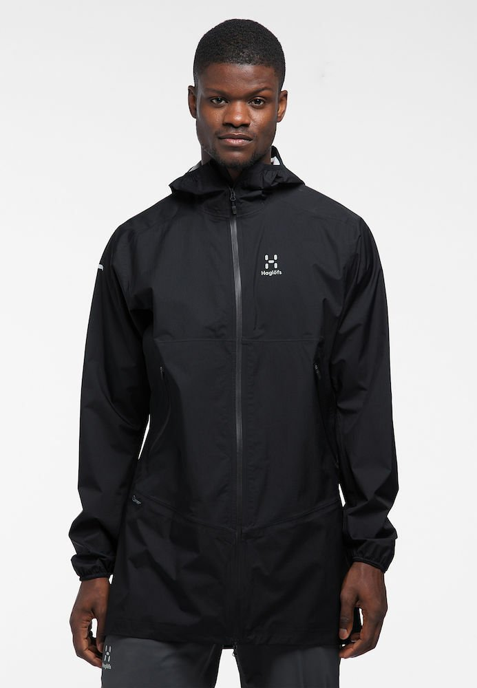 Haglöfs - L.I.M PROOF PARKA - Parka - true black