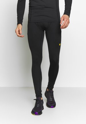 RUN - Leggings - true black