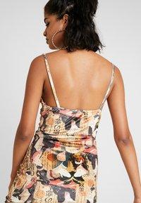 NEW girl ORDER - ORIENTAL PRINT DRESS STRAPS - Fodralklänning - multi - 3