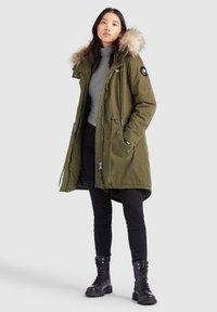 khujo - KENITA4 - Winter coat - oliv - 8