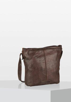 SUBMARINE - Across body bag - brown