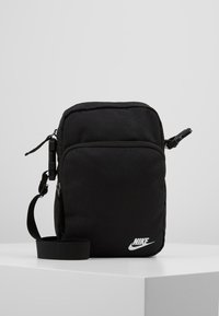 Nike Sportswear - HERITAGE UNISEX - Across body bag - black - 0