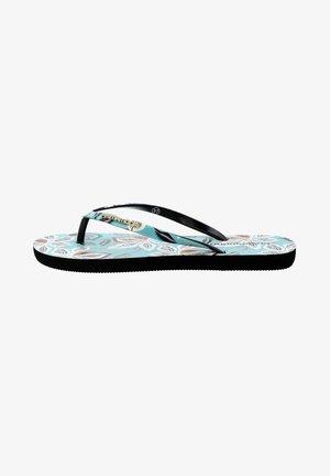 OLMI  - T-bar sandals - blue