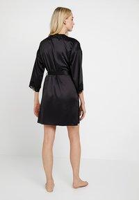 Lauren Ralph Lauren - KIMONO ROBE - Dressing gown - black - 2