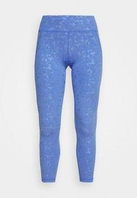 Sweaty Betty - ALL DAY EMBOSSED 7/8 LEGGINGS - Legging - blue - 3