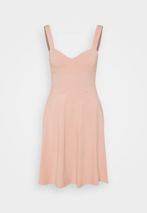 PCANG STRAP DRESS - Jersey dress - misty rose