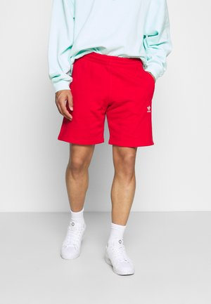 ESSENTIAL UNISEX - Shorts - red