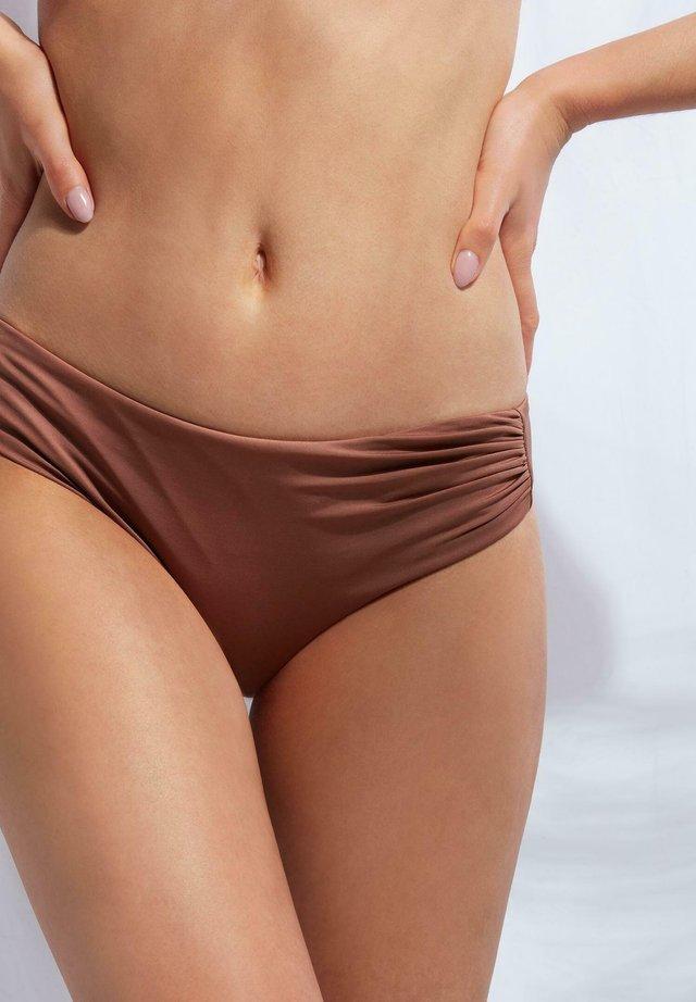 MIT HOHEM BUND INDONESIA ECO - Bikini-Hose - indian brown