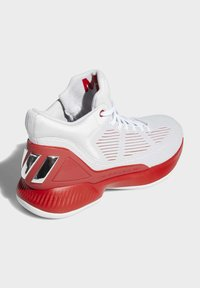 adidas Performance - D ROSE 10 SHOES - Basketball shoes - grey/red/white - 4