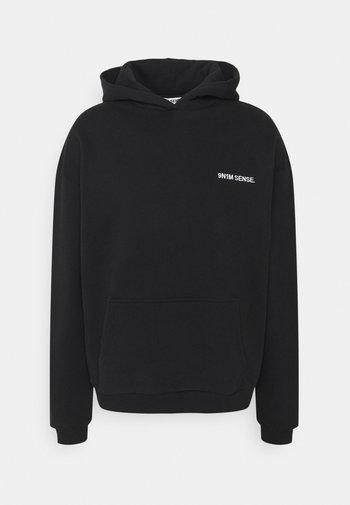 LOGO HOODIE UNISEX - Sweatshirt - black