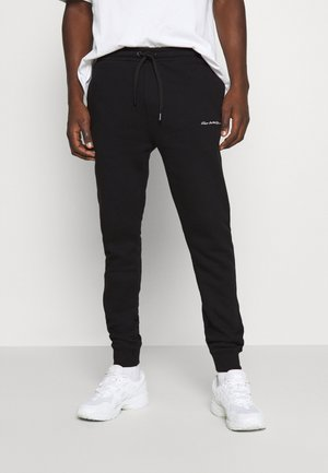 UNISEX LEIGH  - Tracksuit bottoms - jet black