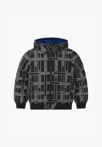 Calvin Klein Jeans - REVERSIBLE LOGO TAPE  - Vinterjakker - black - 0