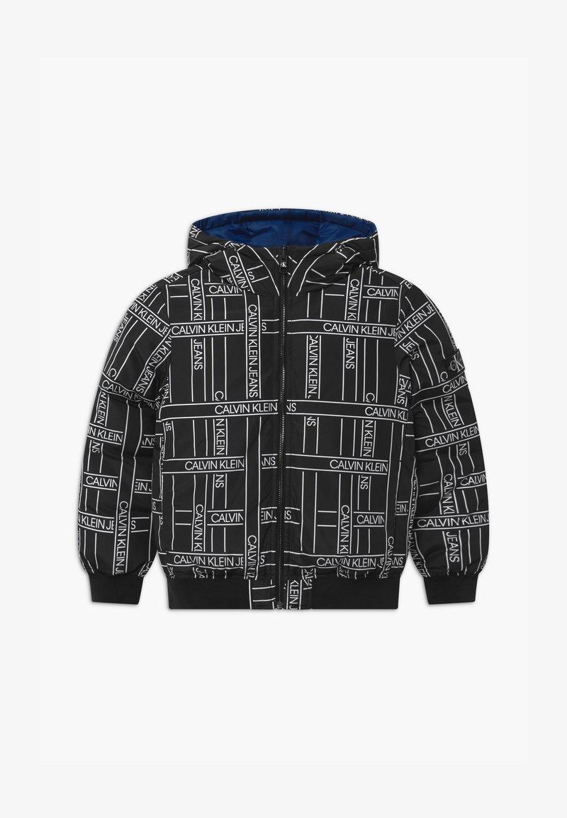 Calvin Klein Jeans - REVERSIBLE LOGO TAPE  - Vinterjakker - black