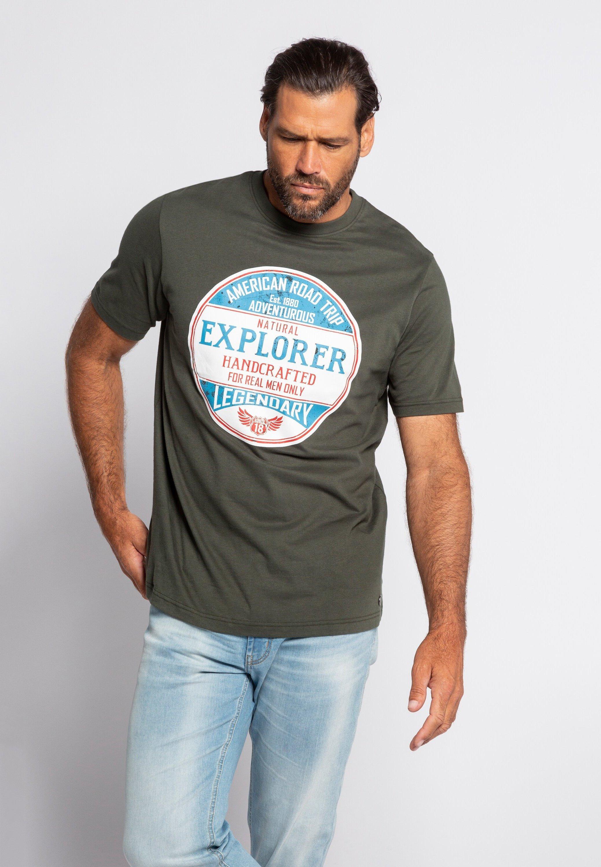 Homme JP 1880 HERREN GROSSE GRÖSSEN - T-shirt imprimé
