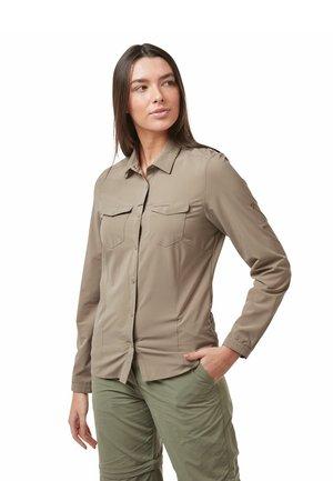 NOSILIFE - Button-down blouse - mushroom