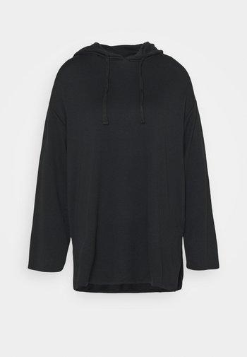 Wide Sleeve Long Hoodie