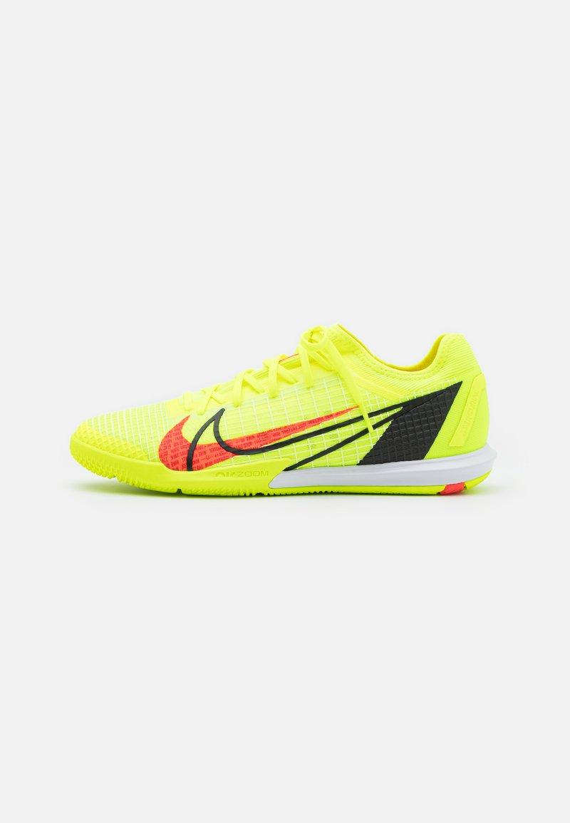Nike Performance - MERCURIAL ZOOM VAPOR 14 PRO IC - Indoor football boots - volt/bright crimson/black