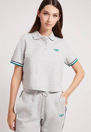 CROPPED FRONTLOGO - Koszulka polo - hellgrau