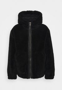 Topman - HOODED - Tunn jacka - black - 4