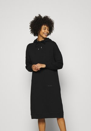 DRESS HOOD - Day dress - black