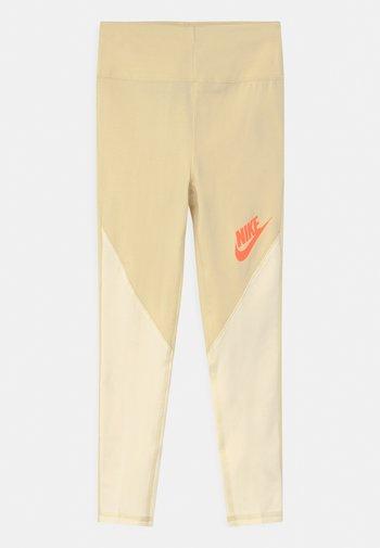 Leggings - Trousers - lemon drop/coconut milk