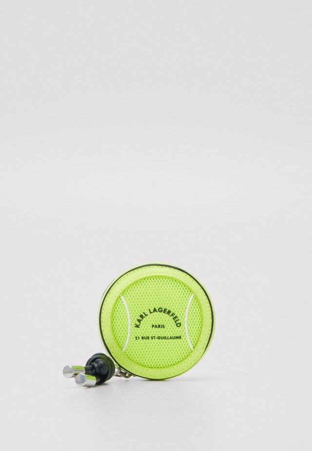 RUE ST GUILLAUME TENNIS - Wallet - neon yellow