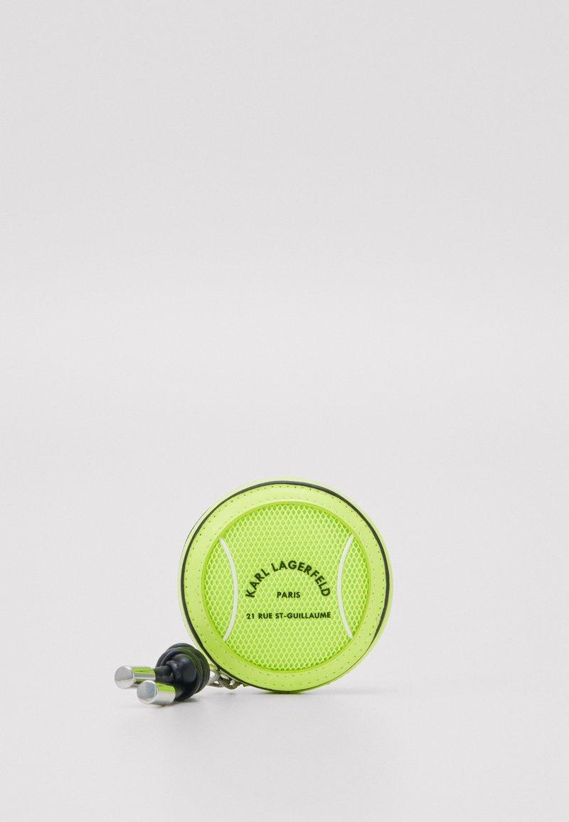 KARL LAGERFELD - RUE ST GUILLAUME TENNIS - Wallet - neon yellow