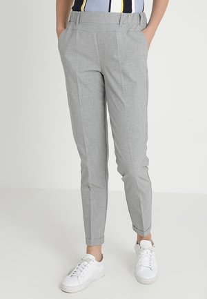 NANCI JILLIAN PANT - Stoffhose - light grey melange