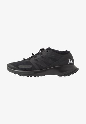SENSE FLOW - Trail running shoes - black