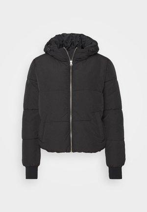 JDYNEWERICA HOOD - Winter jacket - black